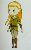 Little Legolas by AlwinaGreenPeach