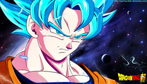 Son Goku Ssj Blue by jasmkurdish