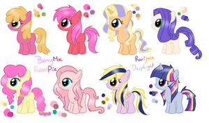 Shipping Foals 1 by CookieDreamAdopts