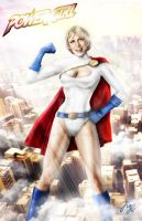 Power Girl by Maryneim