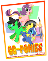 GG-Ponies by SupaCrikeyDave
