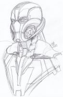 Another Ultron sketch by ConstantM0tion