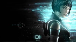 Tron Legacy desktop design by natosaurus