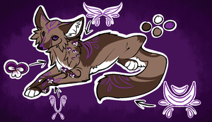 Lilac adopt .:closed:. by fursonaloverXD