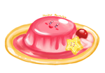 Kirby Flan by ShadedPenumbra