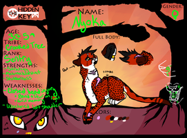 Nyoka 2013 Reference by Wolfchick36