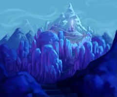 Ice Kingdom speed painting by antonio-panderas