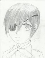 Ciel Phantomhive Drawing by Star1147