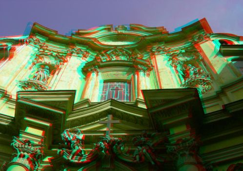 Rome 9 3D Anaglyph by yellowishhaze