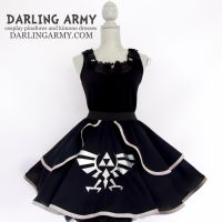 Shadow Link Legend of Zelda Cosplay Skirt by DarlingArmy
