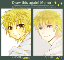 Meme: Draw this again reikizou by hisagiku