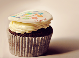 cup cake by Esraa-hussein