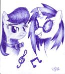 Musicians of Ponyville by varijani