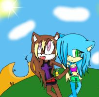 MallZ nd hannerZ by sonicfan5654