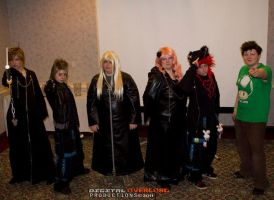 Kingdom Hearts Group by monster-assassin