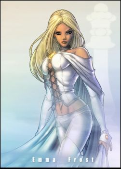 Ms Emma Frost by JamieFayX