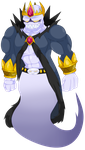 King Boo (AKA Mephistoles) by That-One-Leo