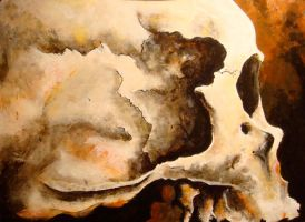 Skull painting. by musicophilia