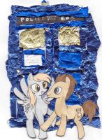 derpy/dr whooves by L1ghtningpaw