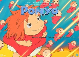 Ponyo contest entry by lovelymarina