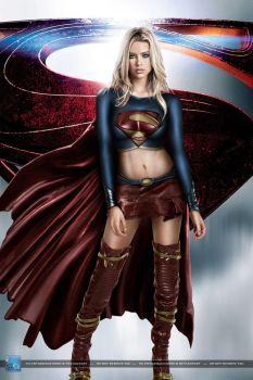 Supergirl: Man of Steel Version by SilentArmageddon
