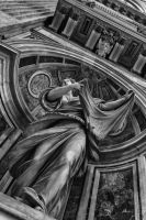Statue vatican2 by bchamp2