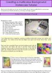 multicolor backgrounds part 1 by dragonflywatercolors