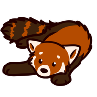 Red Panda by Paleclaw