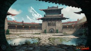 The Emperor's Old Courtyard by Benef