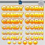 Styles: Candy Corn by HGGraphicDesigns