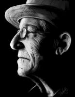 Portrait of an old man by Shinigami1289