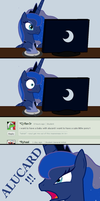 MLP FIM Comic - Alucard! What's this?!! by ArdonSword
