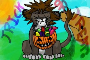 Lion Cub Sora Trick Or Treat by Shibara
