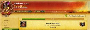 Death to the king by 691