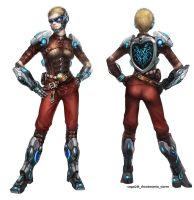 New female character for shootmania storm by vega218
