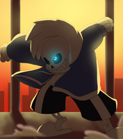 Undertale_sans battle by pink-ninja