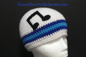 Vinyl Scratch Striped hat by KateoftheArt