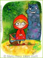 Little Red Riding Hood by yuki-the-vampire