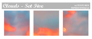 Funky Clouds - Set Five by Tarla