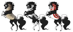 Skullappaloosa Adopts -Closed by Utakame