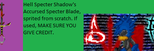 Accursed Specter Blade by shadefalcon