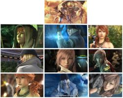 Final Fantasy XIII Stock pack by Ecthy