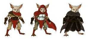 Foxling Males Concept Art by pinkhavok