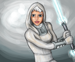 Lost Jedi: Brianna by blackbirdsfly