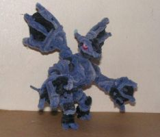 Zekrom by fuzzyfigureguy