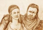 Ezio and Sofia by LadyMartina