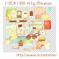 Pack Png #1 by JErurus