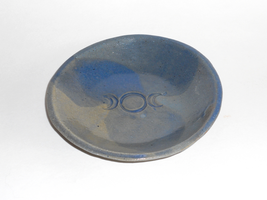 Ceramic Triple Moon Offering Dish by Merytsetesh