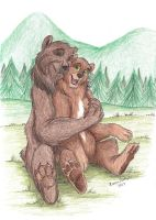 Bears by EvaJanus