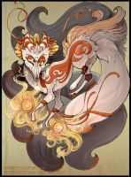 Kitsune Magic by Flying-Fox